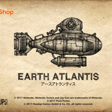 Nintendo Switch版『Earth Atlantis』が2017.10.19にリリースされました
